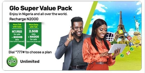 Introducing Glo Super Value Pack, Gives You More Data More Voice Talk