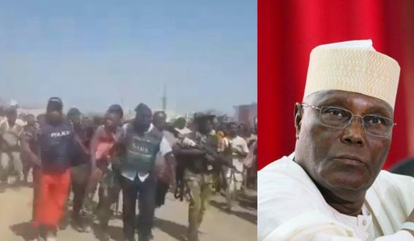 Atiku reacts to Abuja bank robbery, hopes for better security