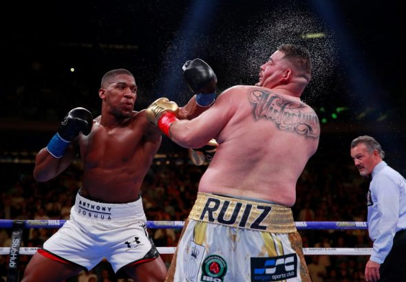 Anthony Joshua tells Andy Ruiz to never give up after Saudi Arabia rematch