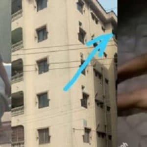 A Man Who Pushed His Pregnant Girlfriend from Fifth Floor