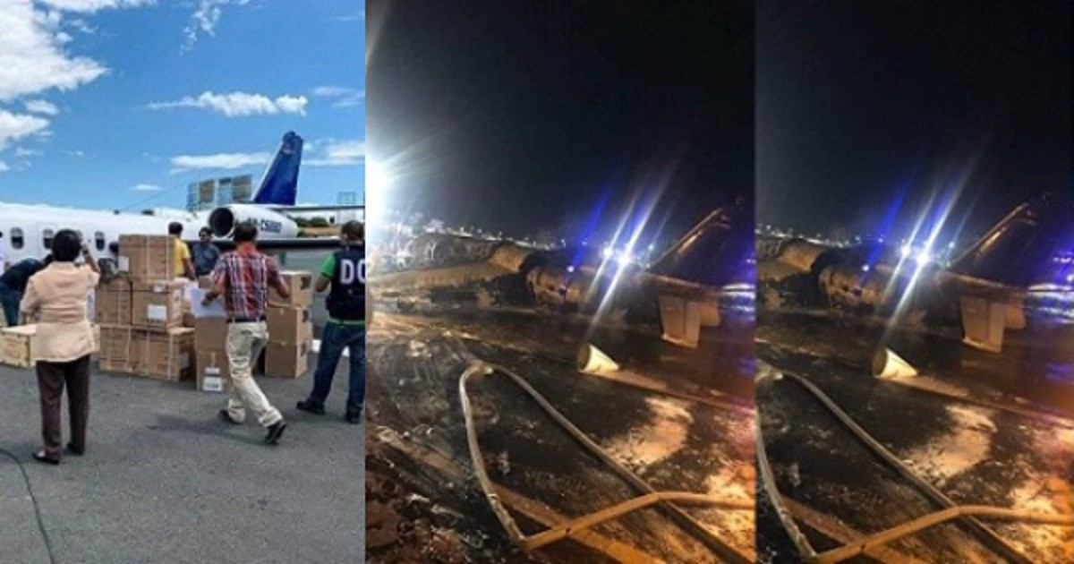 Tragedy Hits As Airplane Carrying Coronavirus Materials And Patient Crashes In Manila