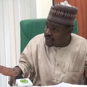 (Video) Direct Customs to release all the bags of rice seized in the past and share them to Nigerians – House of Reps member, Muhammed Kazaure tells President Buhari