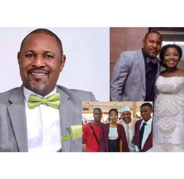 Meet Yoruba Actor Saheed Balogun, His New Wife, Kids And Things You Never knew.