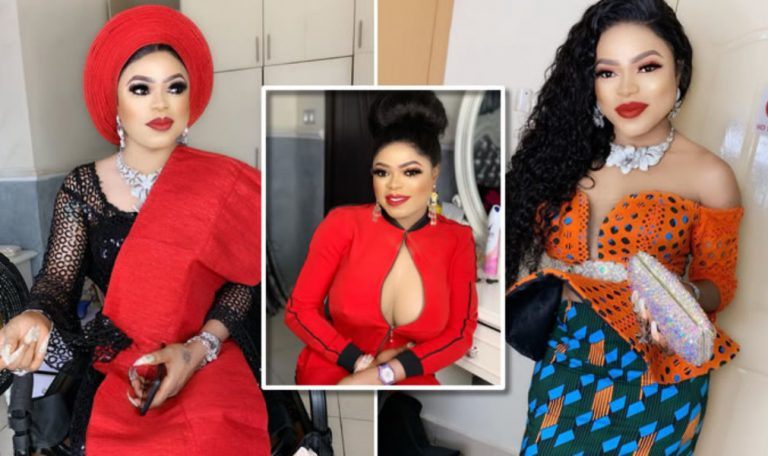 Bobrisky mocks people asking him for giveaway, shares throwback picture of when he was broke