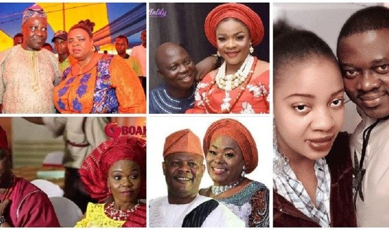 Meet Dele Odule, Mr Latin, Muyiwa Ademola, Yinka Quadri and other Yoruba Nollywood actors and their wives you don't know about (PICS)