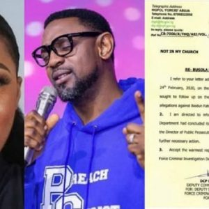 """Today, I have a major update"" – Busola Dakolo gives update on her rape case against Pastor Biodun Fatoyinbo"
