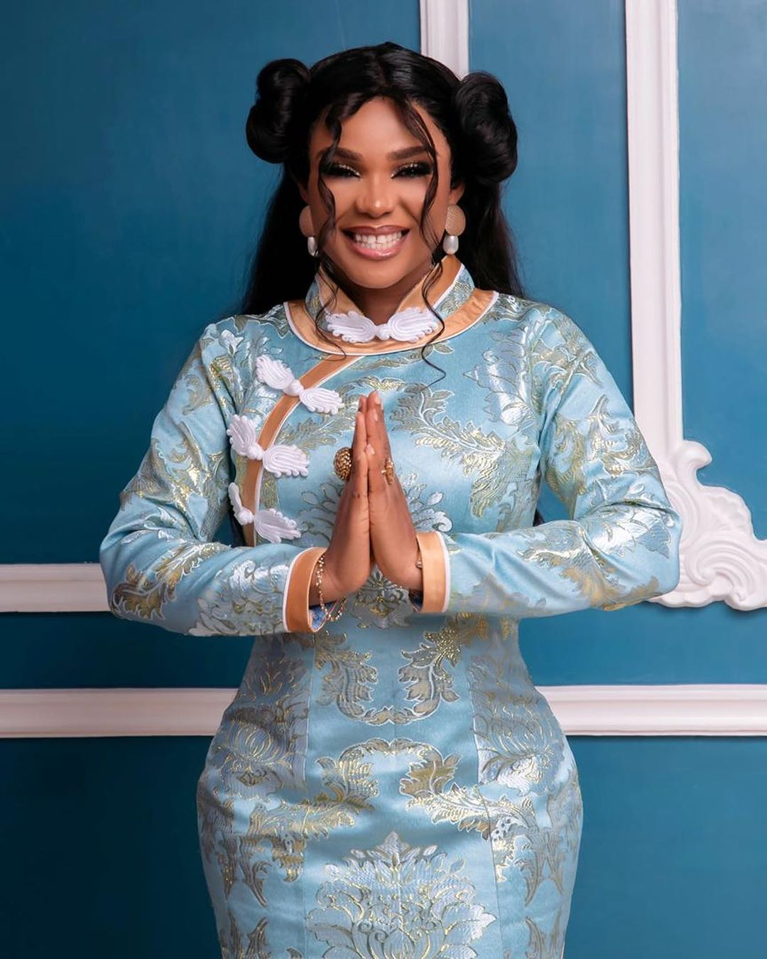 """Chinese Lomo""- Nollywood Stars React As Iyabo Ojo Shares New Post on Instagram (Pics)"