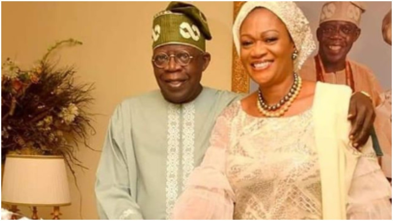"""""""She raised all our children by herself"""" Tinubu celebrates wife, Remi on 60th birthday (photos)"""