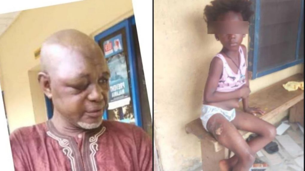 70 year old man rapes 8 year old girl, bribes her with N80