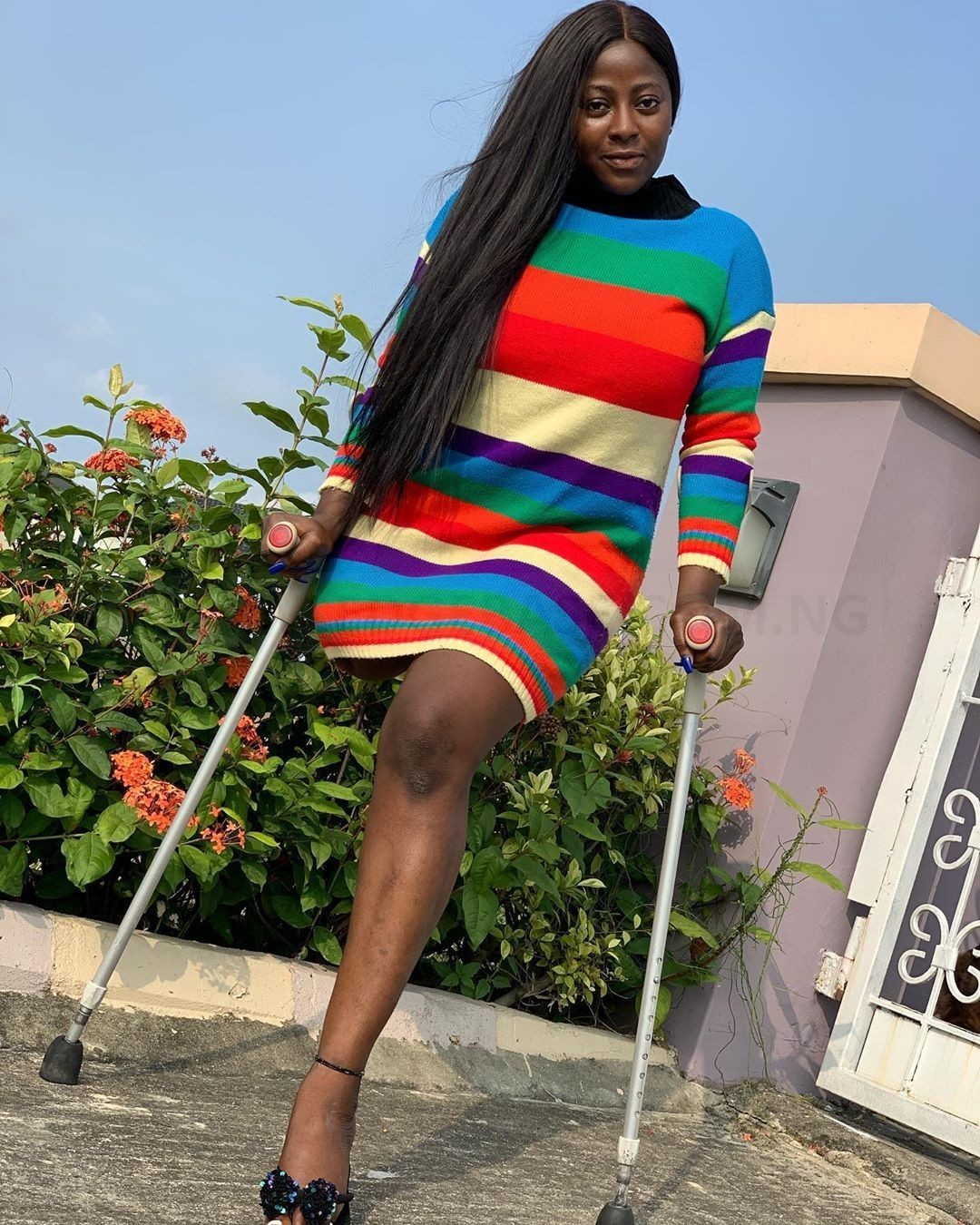 Years After This Beautiful Nollywood Actress, Dorris Lost One Of Her Legs, See Her New Photos