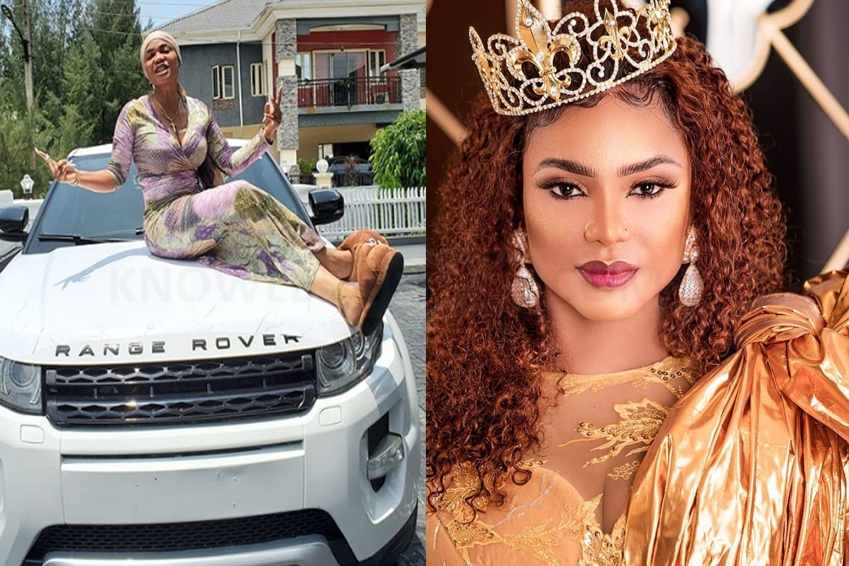 Nollywood Actress Gifts Iyabo Ojo New Range Rover SUV (PHOTOS)