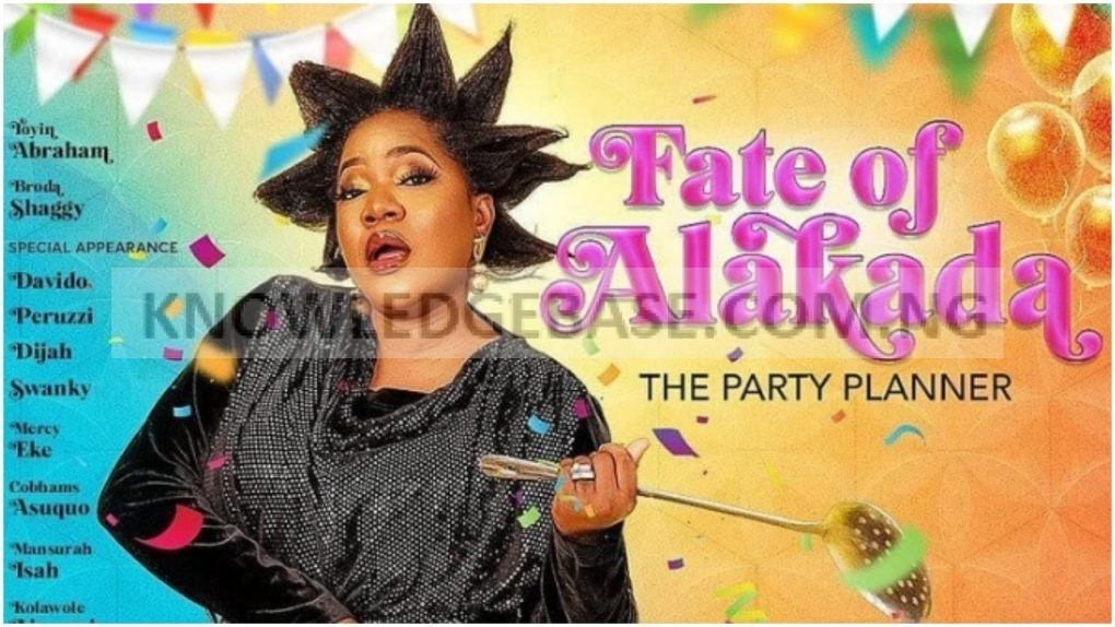 Nigerians jump for joy as Toyin Abraham finally announces release date for her movie 'Fate of Alakada'