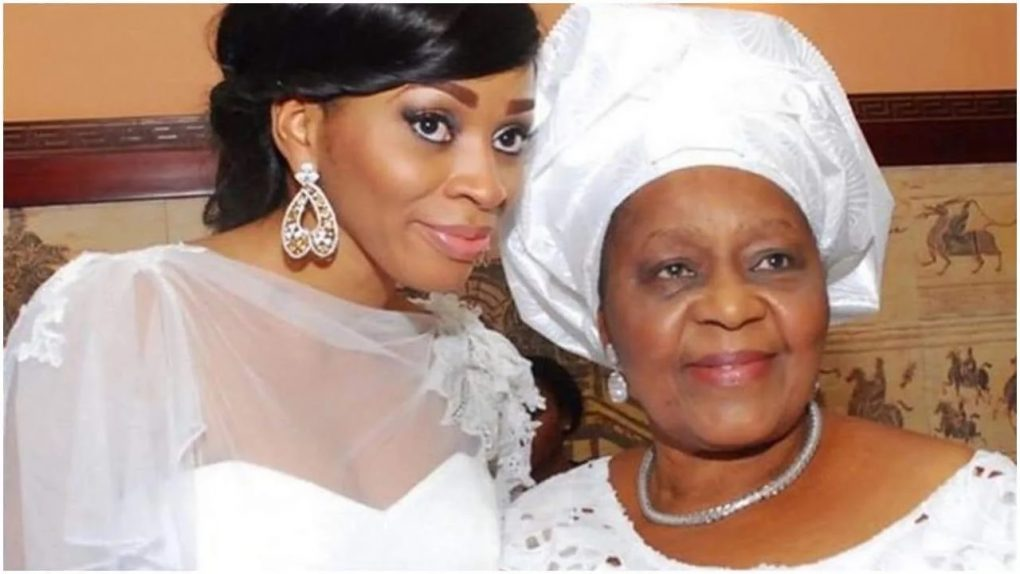 Sade Okoya throws surprise 77th birthday lunch for billionaire husband's first wife (photos, video)