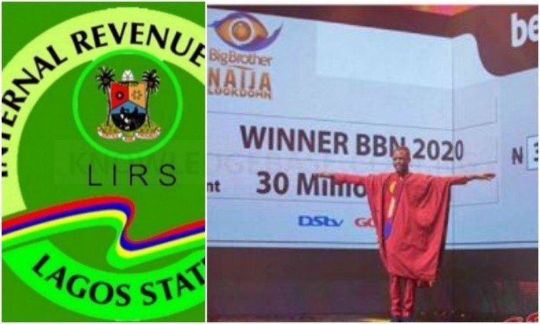LIRS reaches out to BBNaija 2020 winner, Laycon about his tax