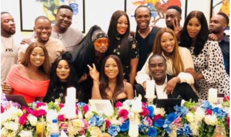 Photos and video from Linda Ikeji's 40th birthday dinner