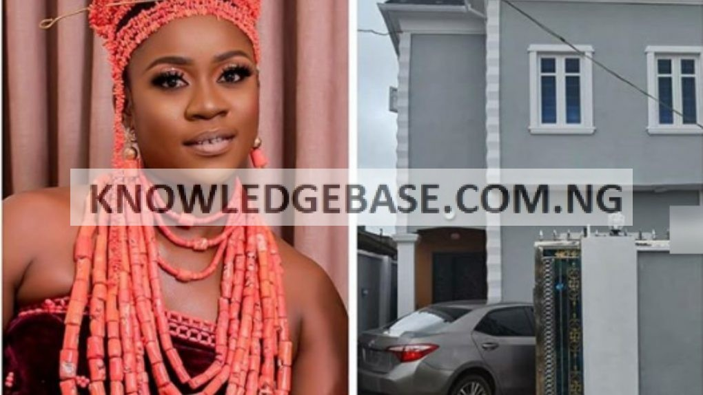 Actress, Olayinka Solomon joins the league of Iyabo ojo, Mercy Aigbe as she becomes a mansion owner in Lagos |Photos