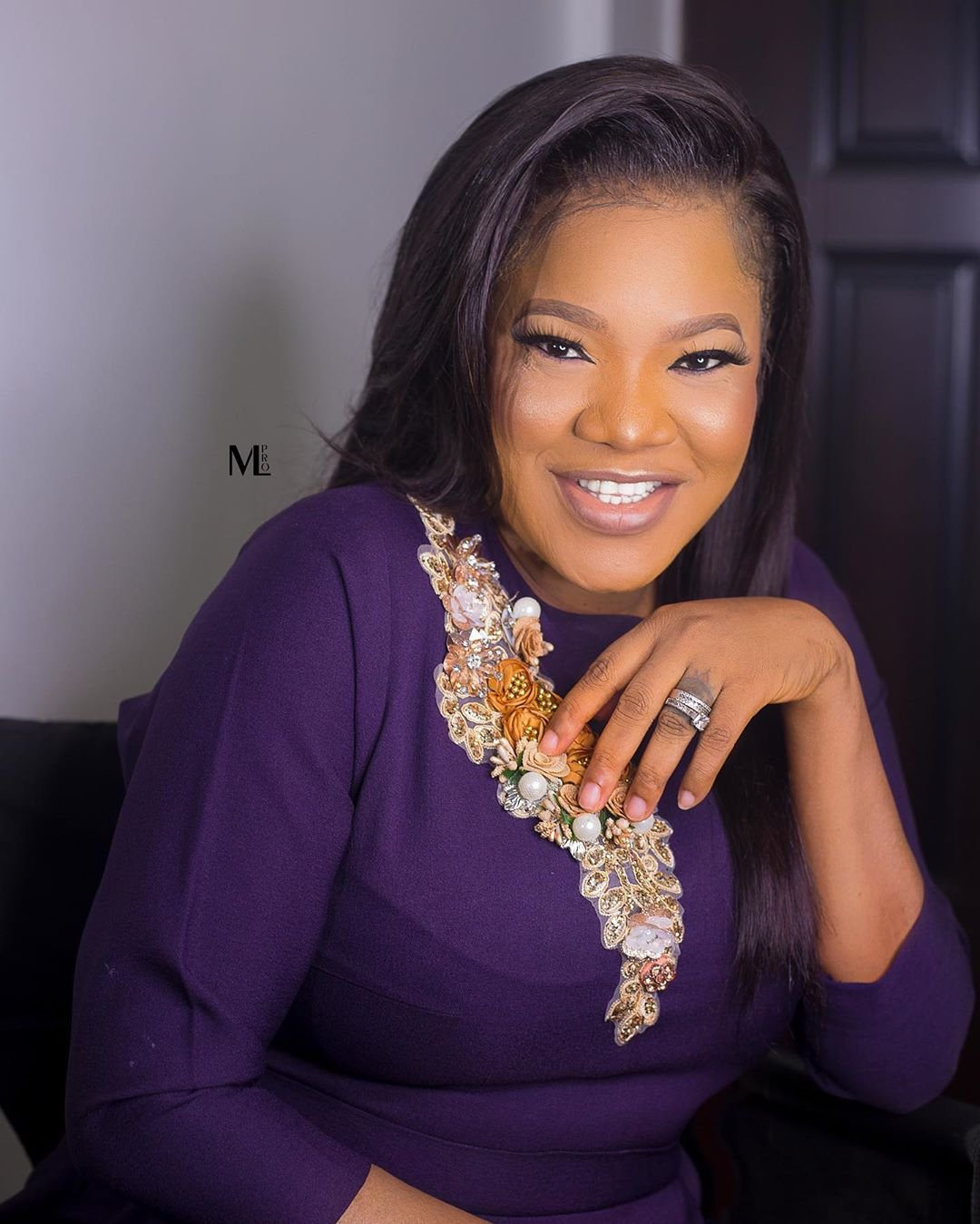 10 beautiful photos of Toyin Abraham that Showed Her Fashion Sense Has Improved (Photos)