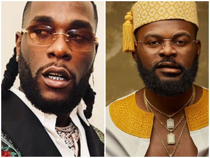 Check Out Burna Boy's Heart-Warming Message To Falz As He Celebrates His Birthday Today