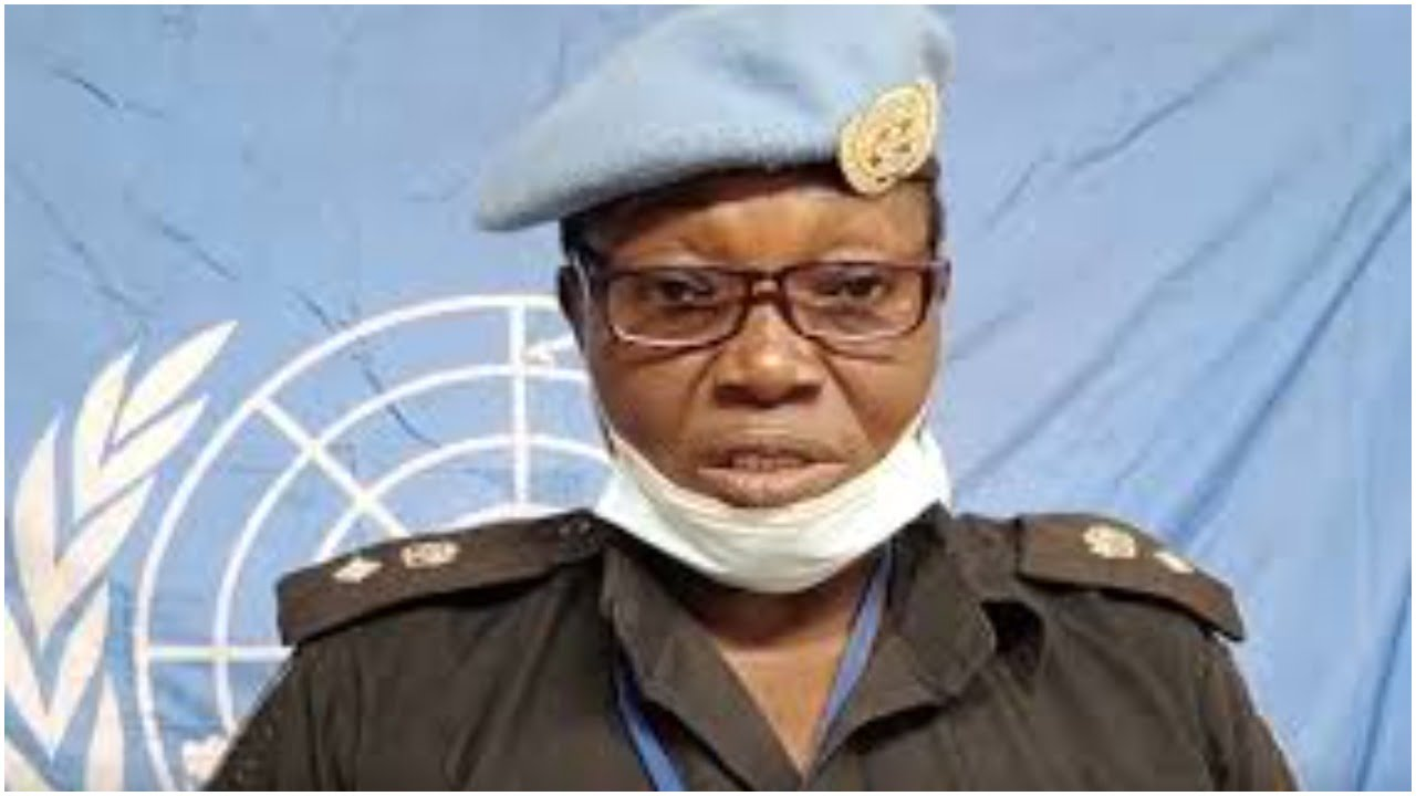 Catherine Ugorji: Nigerian Selected For UN Woman Police Officer Of The Year Award