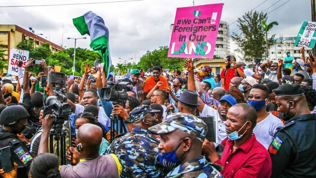 #EndSars: Police Shoots Dead Student In Ogbomoso During The Peaceful Protest – VIDEO