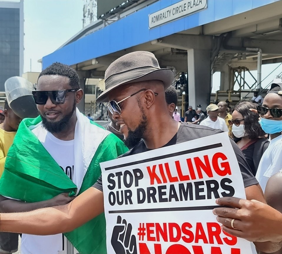 #ENDSARS: 'A Better Nigeria Is On It Way, I Can I Assure You' – AY Comedian Prays