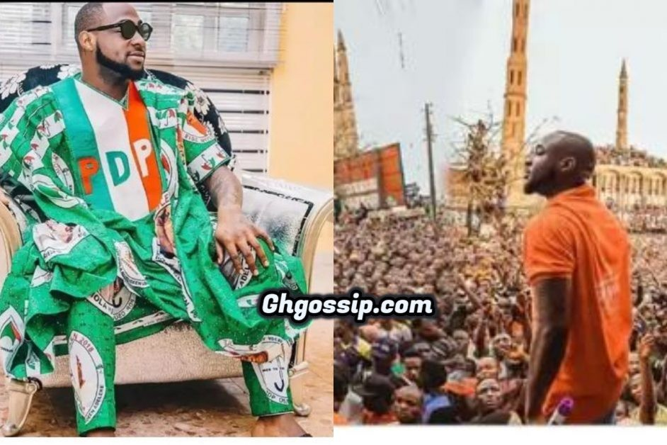 I Will Run Office And Nobody Go Beat Me – Davido Says As He Reveals Political Ambition