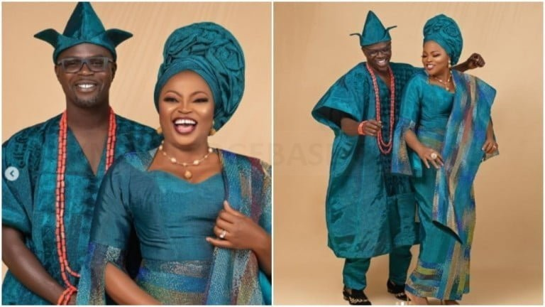 'Twins part 2 loading' – Celebrities tell Funke Akindele as she embarks on weekend getaway with her husband