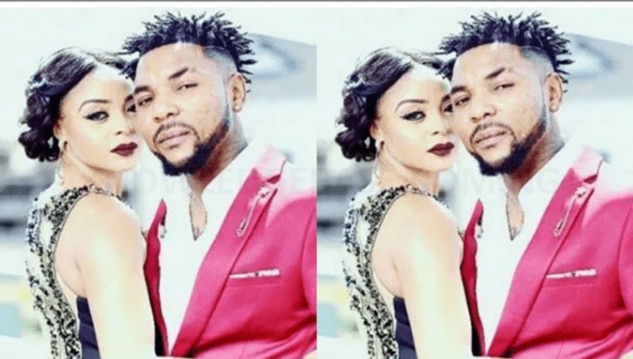 Singer, Oritsefemi jubilates as his wife, Nabila returns home after a messy fight