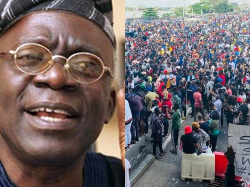 Falana Reveals Why Family Members Of Lekki Victims Are Afraid To Speak