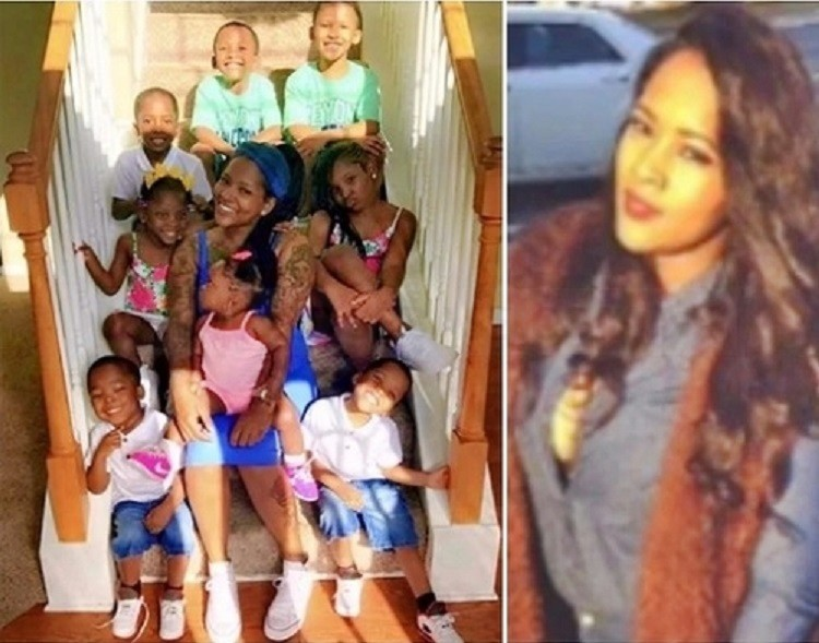 Triplets, Twins & More: Meet 26-year-old Pretty Young Mother of 9 Beautiful Children (Photos)