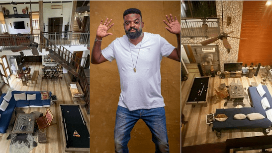 """""""Simply, Arty And Classy"""" Kunle Afolayan As He Shows Off The Interior Of His Home."""