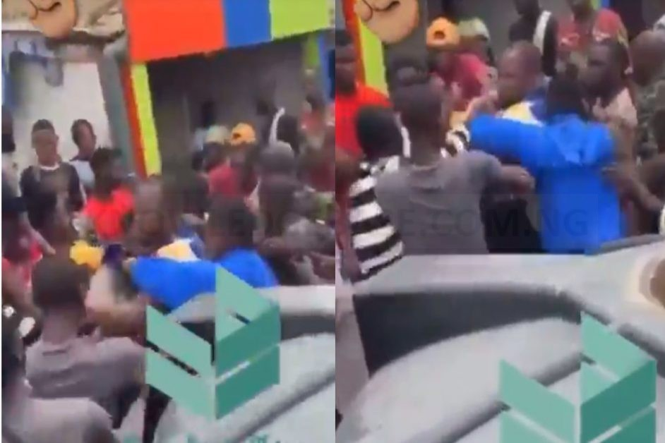 #EndSars: Drama As Man Catches 'Business Partner' At Protest Ground, After He Ran Away With His Money (VIDEO)