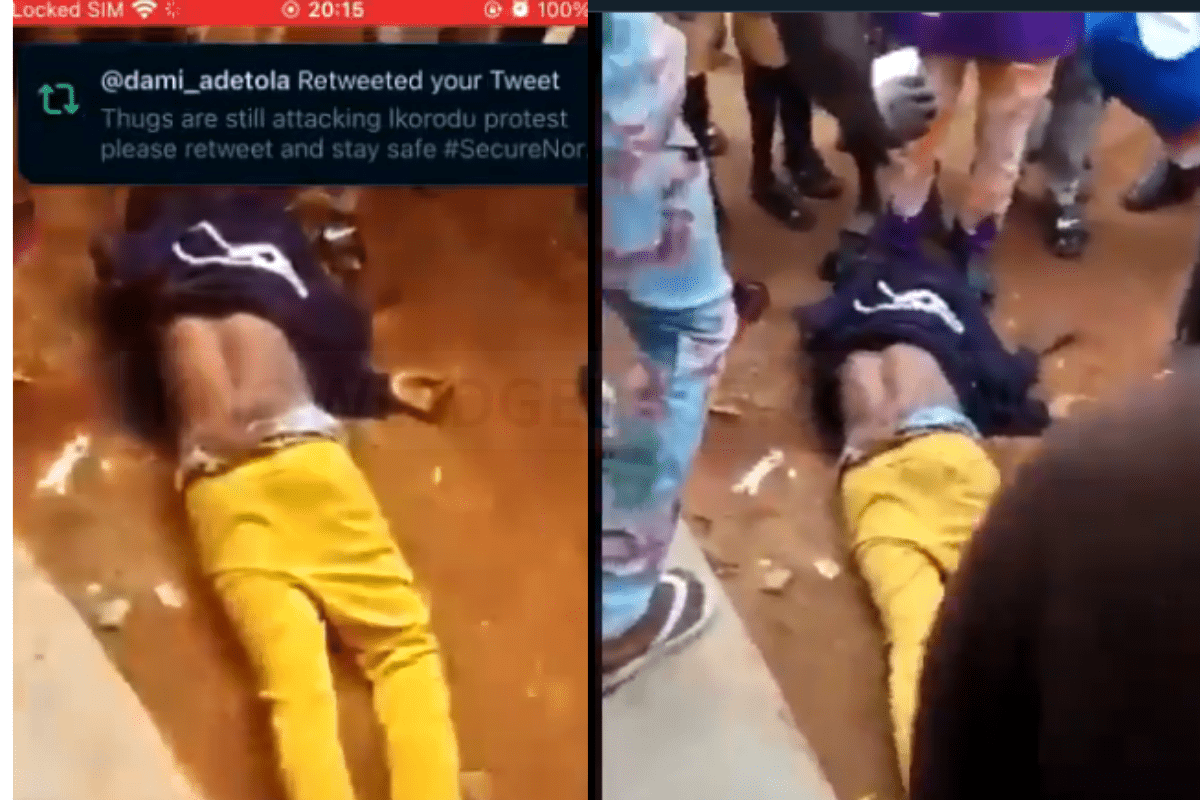 #EndSARS: Another Man Has Died In Osogbo (VIDEO)