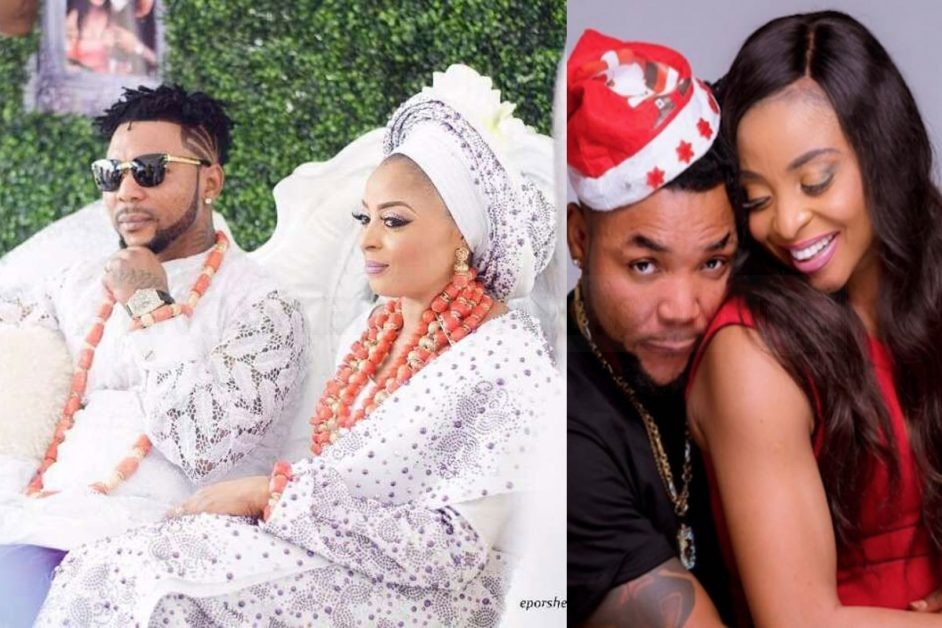 Thank you Nigerians, my love is back home; Oritsefemi's Wife, Nabila Moves Back To Her Matrimonial Home