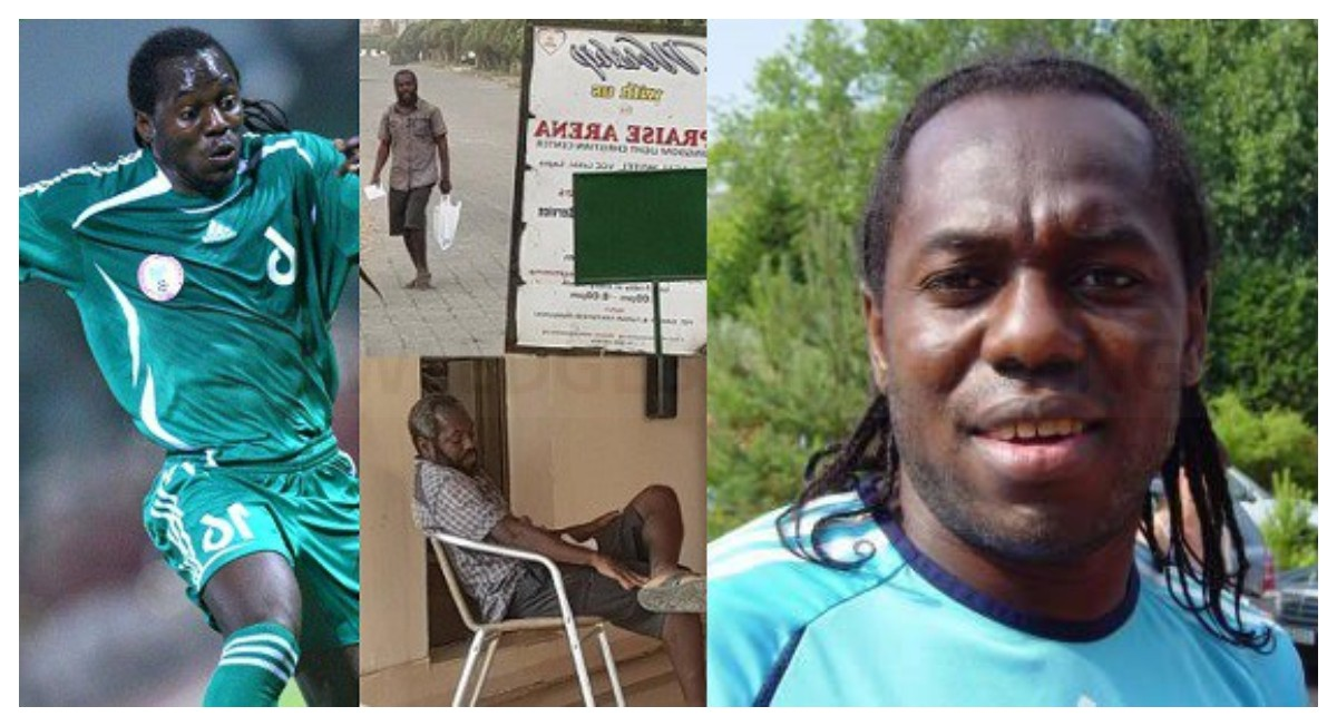 Read Heartbreaking Story Of Ex-Super Eagles Player (Oruma,) Who's Now Broke And Mentally Unstable After A Pastor Duped Him Of All His Money
