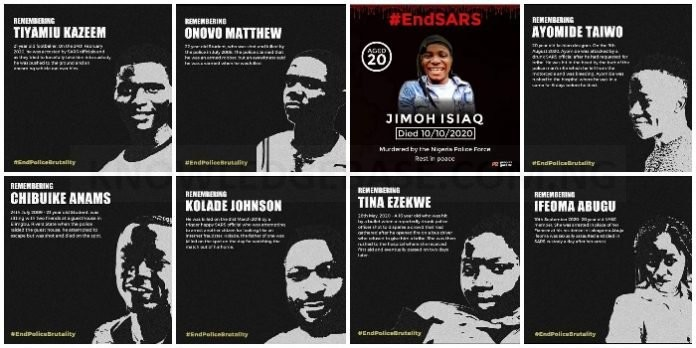 List Of 8 People Killed By SARS – Their Age, How they were killed, and much more #ENDSARS (PICS)