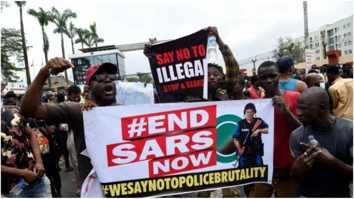 Woman who forgot her child at #EndSars protest dragged by Nigerians