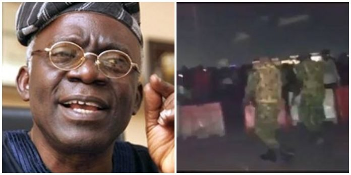 We've identified barracks where soldiers who shot protesters at Lekki Toll gate came from – Femi Falana – Watch Video