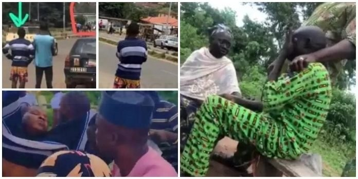 """I've No One Besides This Child, But I've Accepted My Fate"" – Hours after his son was shot dead during the #EndSARS protest, Jimoh Isiaq's father cries uncontrollably (VIDEO)"