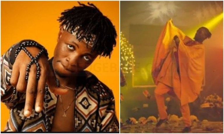 Icons shun social distancing, welcomes BBnaija's Laycon in grand style