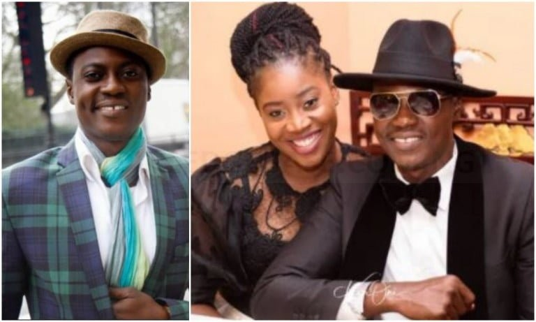 Veteran singer, Sound Sultan shows off his beautiful family for the first time