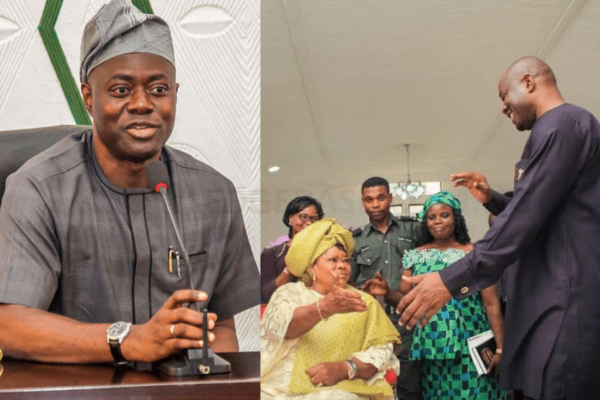JUST In: Oyo State Mourns As Governor Seyi Makinde's Mother Dies