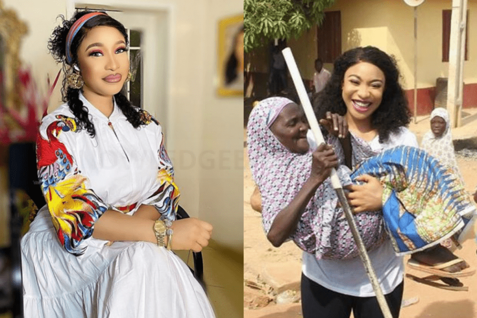 Tonto Dikeh Is God Sent – SEE What She Did For The Less Priveleged (PHOTOS)