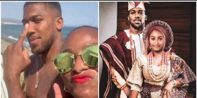 DJ Cuppy shares photoshopped traditional wedding photo with Anthony Joshua