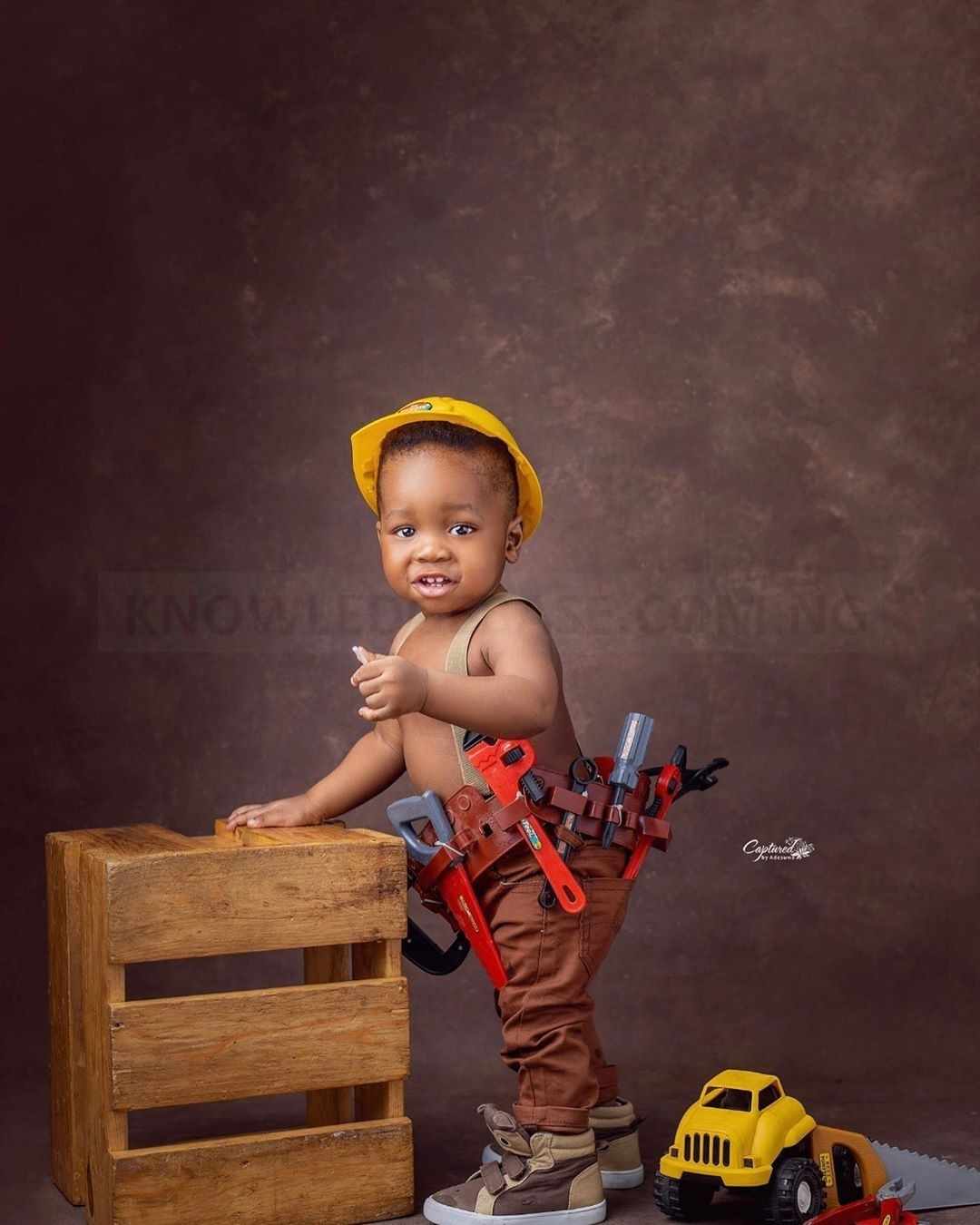 'My peaceful son' – Yoruba Actress, Wumi Toriola pens down Emotional tribute to Celebrate her Son's 1st birthday (PICS)