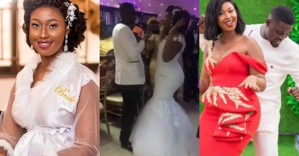Tears as this pretty bride who recently got married dies during child birth (VIDEO)