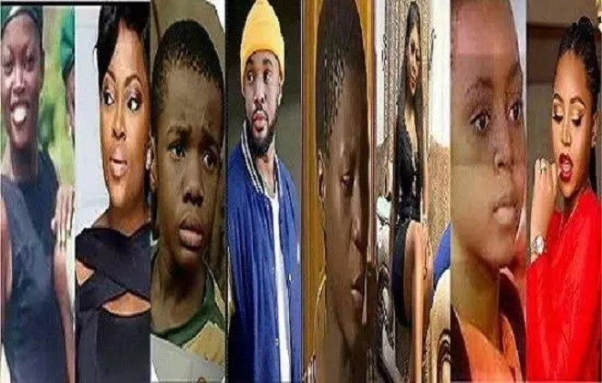 Astonishing: See 7 Nollywood Stars Who Started As Kids