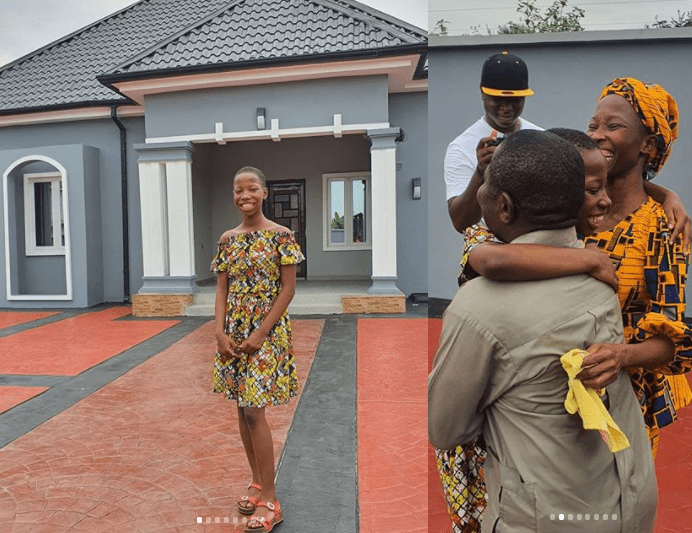 At age 10, Emmanuella bought a house for her parent, promises mum a mansion  See Photo