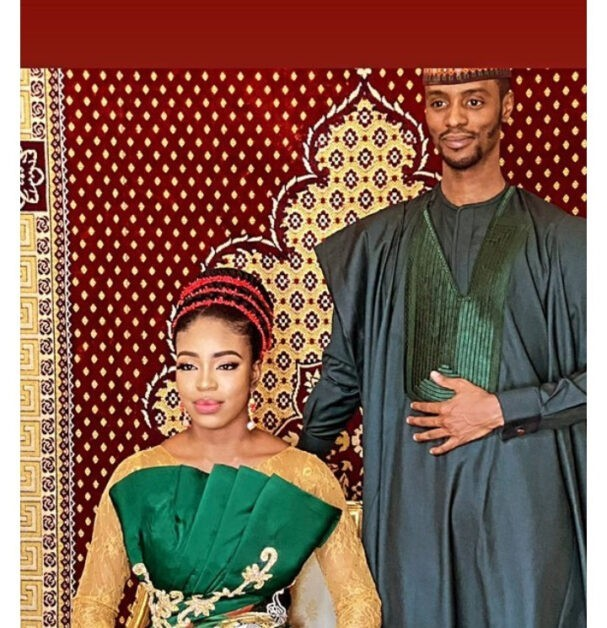 May your marriage be as Buhari's Nigeria- Nigerians react as Bashir El-rufai releases pre-wedding photos with his bride-to-be named 'Nwakaego'