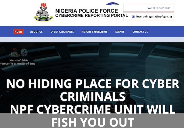 Nigerian Police Force arrests 3 for cyber-related offences as it launches cybercrime reporting portal